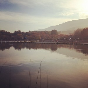 東山湖の画像