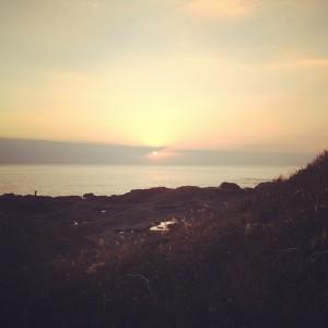 まさにハイビジョンw城ヶ島の夕焼け