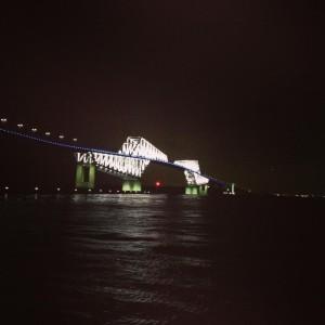 恐竜橋ライトアップ