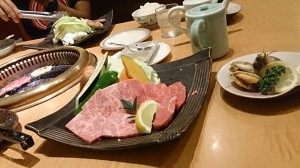 平戸牛の焼き肉