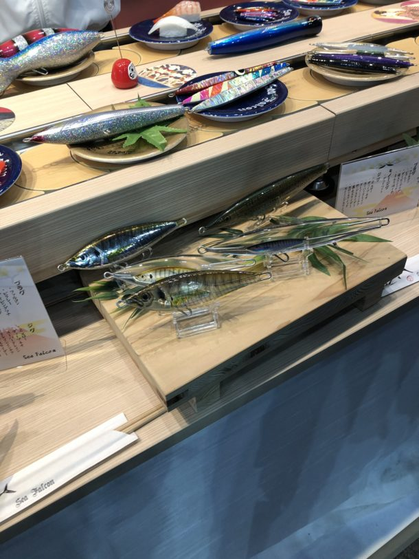 回転寿司っぽいブース
