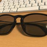レイバンのサングラスをタレックスのレンズと交換してみた