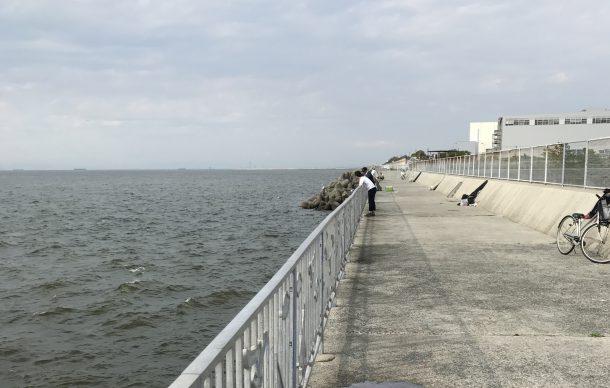 サビキ釣りをする場所イメージ