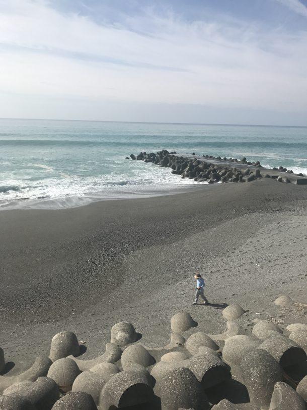 波とおじいちゃん