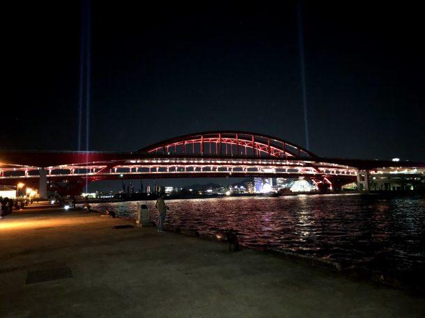 神戸港東側