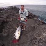 ショアからマグロを釣る動画がすごい
