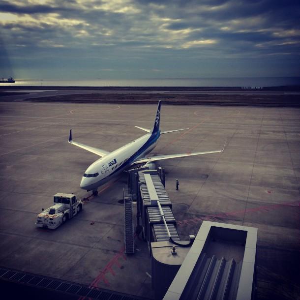 神戸空港の様子