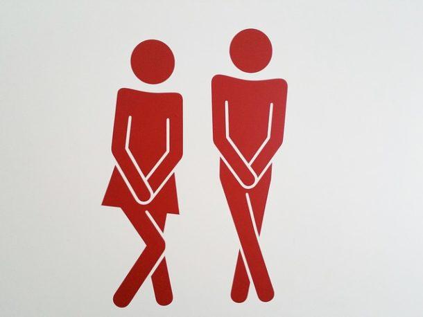 トイレに気軽に行けない
